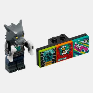 Werewolf Drummer - Lego VIDIYO 43101 Bandmates Series 1 - vidbm01-12