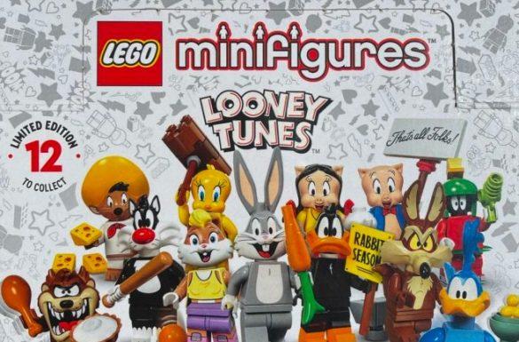 Nowa seria LEGO 71030 Looney Tunes, fot. www.brickfanatics.com/pl/lego-looney-tunes-collectible-minifigure-series-revealed/