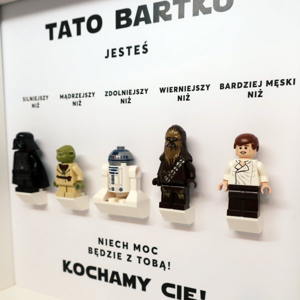 Ramka z bohaterami Star Wars
