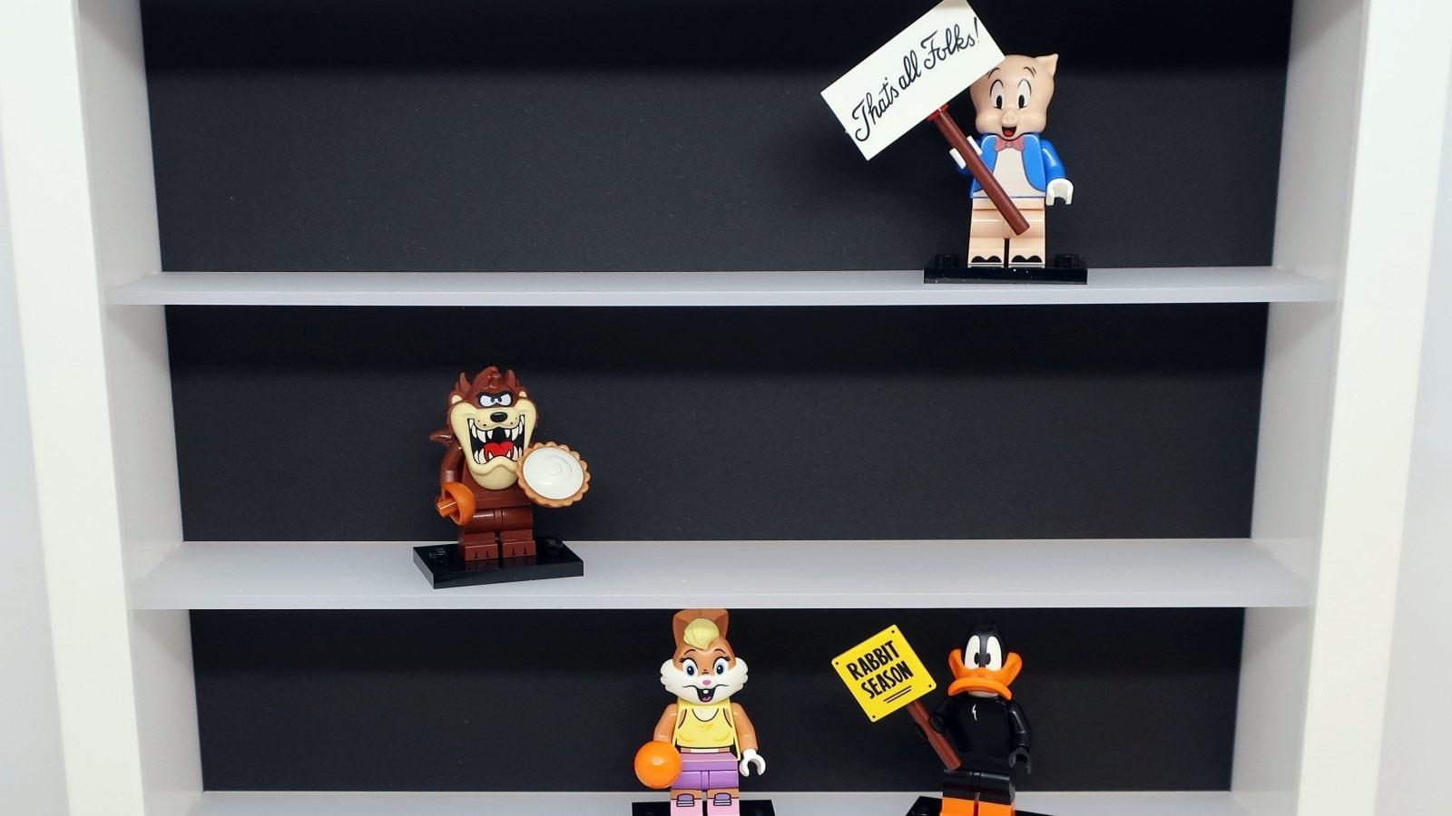 Gablotka na figurki Lego samochodziki zabawki