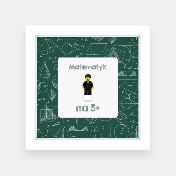 Ramka dla nauczyciela - Matematyk na 5+
