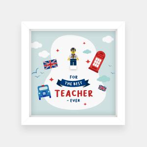 Ramka dla nauczyciela - The best teacher ever