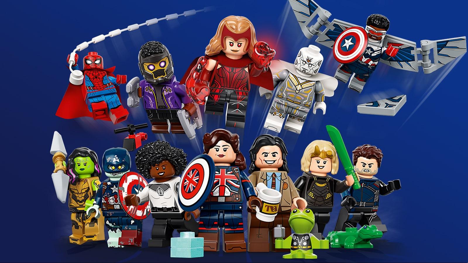 71031 Nowa seria minifigurek LEGO Marvel Studios