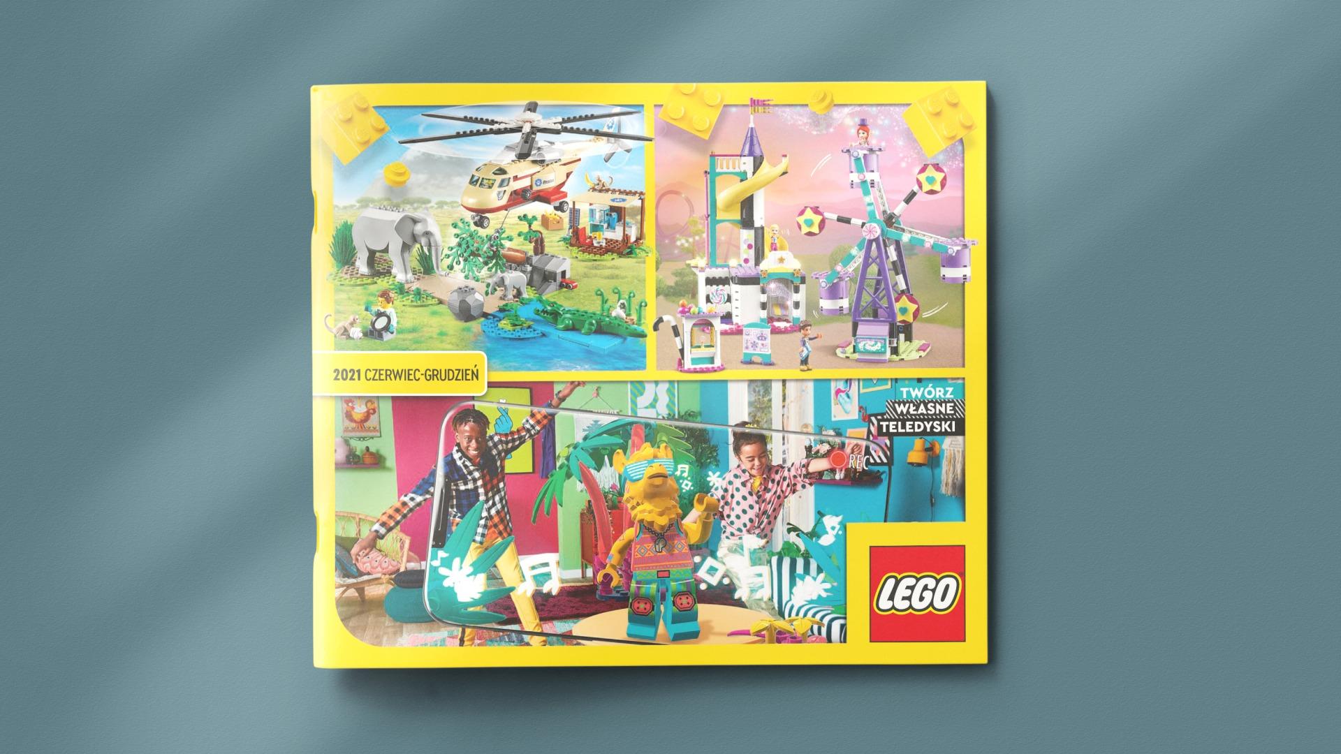 Katalog LEGO czerwiec-grudzień 2021
