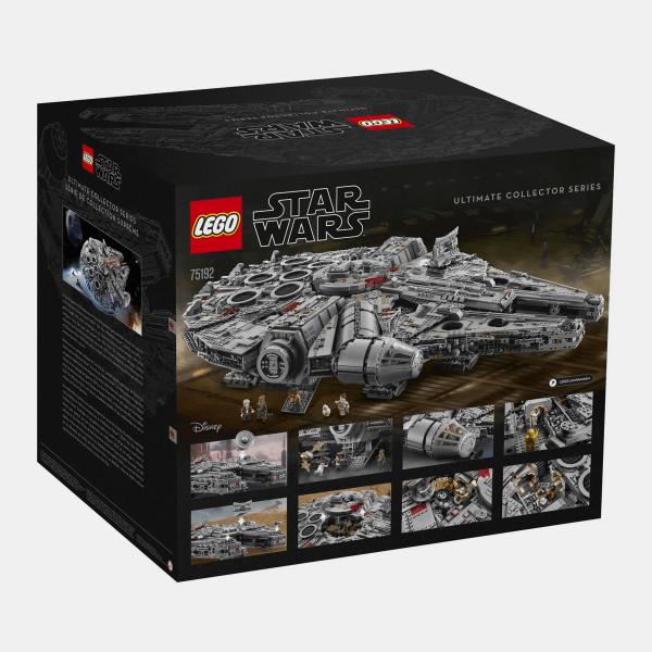 Zestaw LEGO 75192 Star Wars Millennium Falcon - Sokół Millennium