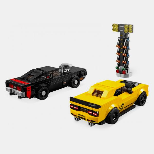 75893 Speed Champions 2018 Dodge Challenger SRT Demon oraz 1970 Dodge Charger R/T