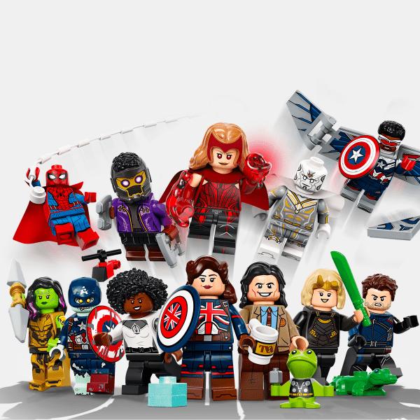 Kompletna kolekcja - Lego Minifigures 71031 Marvel Studios Series