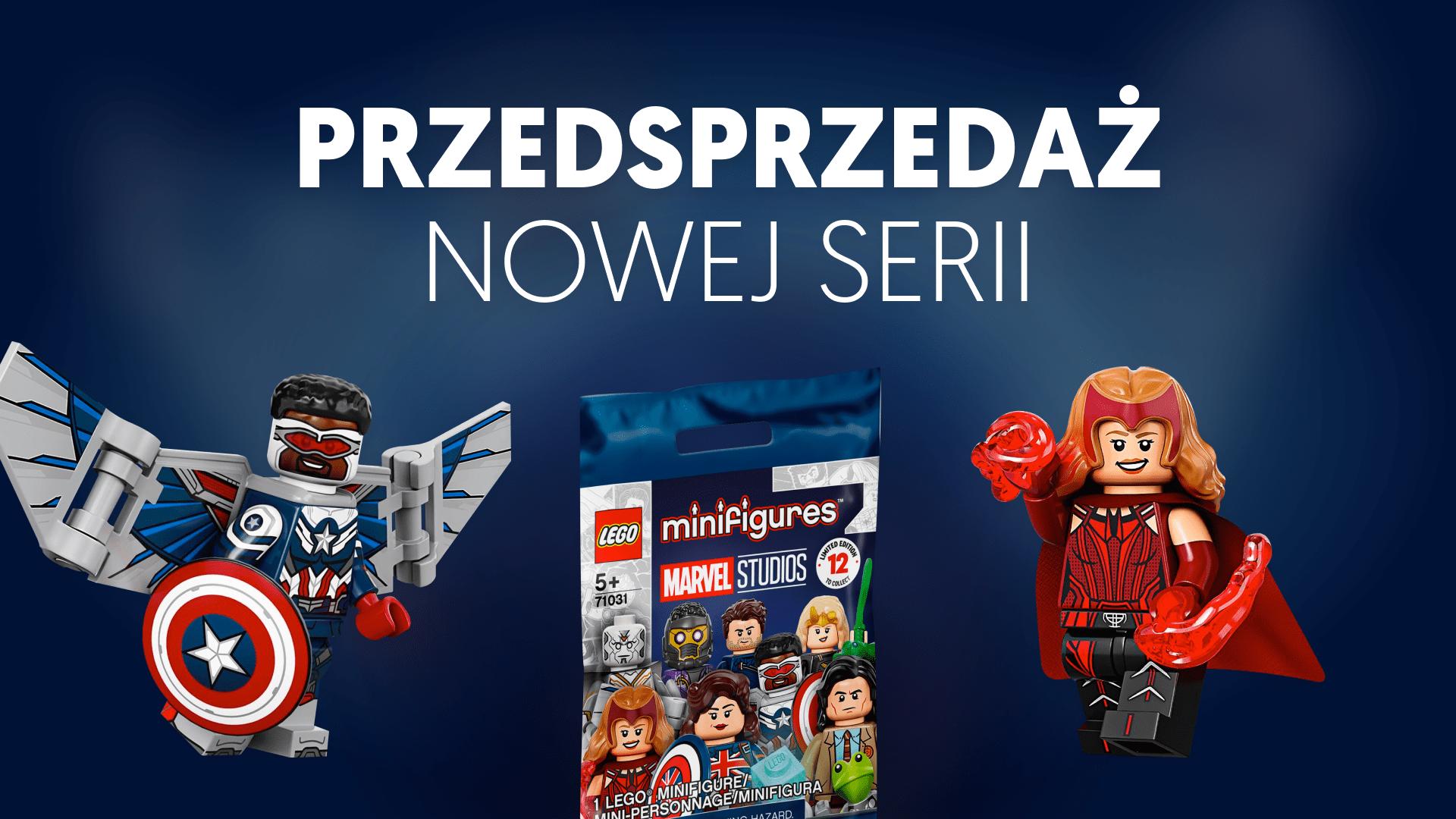 LEGO 71031 Marvel Studios CMF - przedsprzedaż, preorder